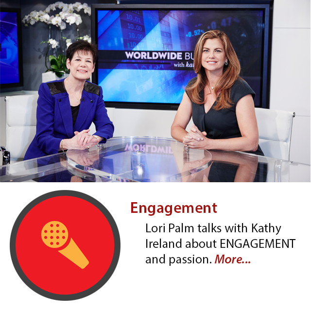 Lori Palm talks about Engagement with kathy ireland and Worldwide Business as sponsored programming