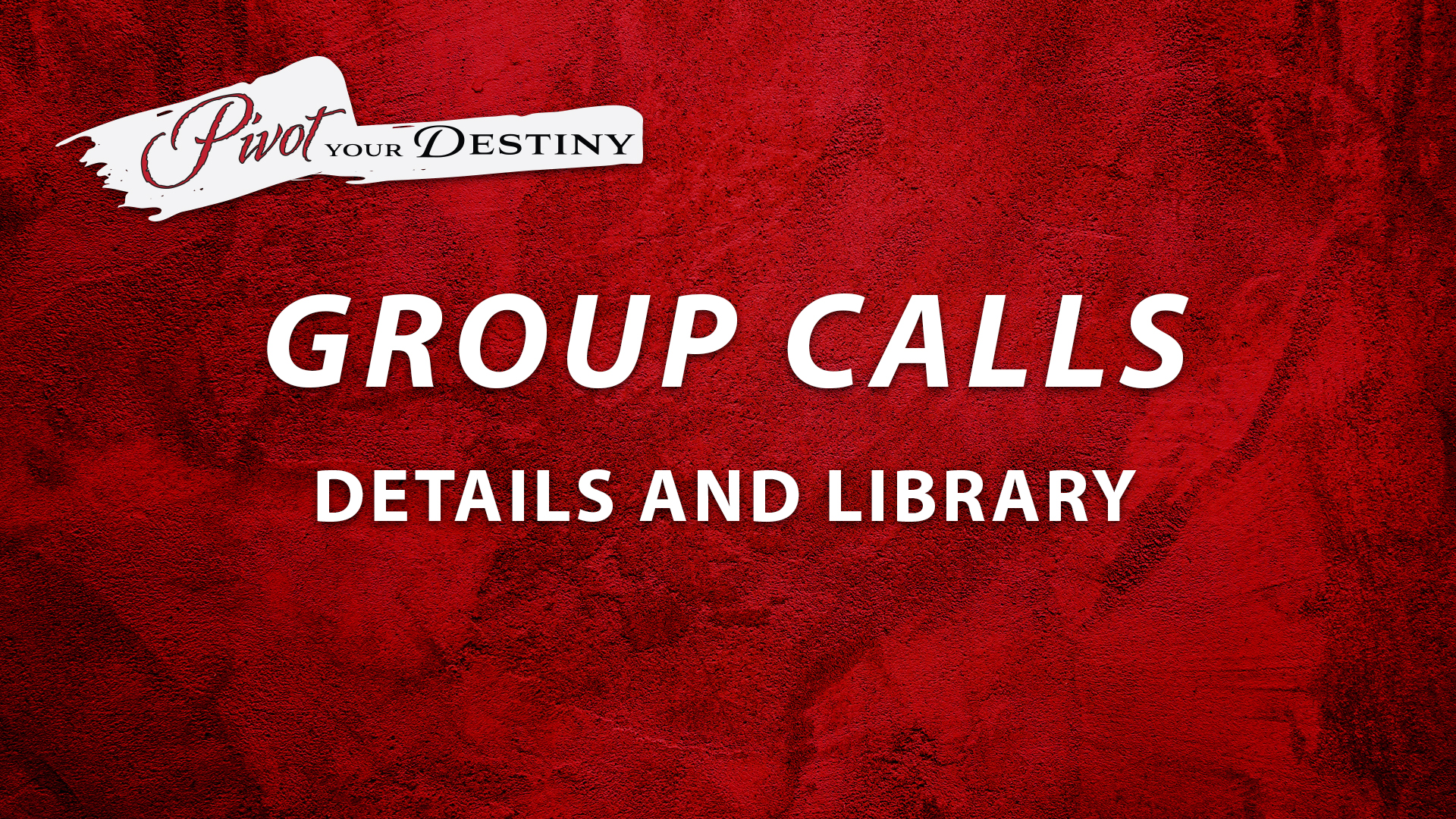 Group Calls